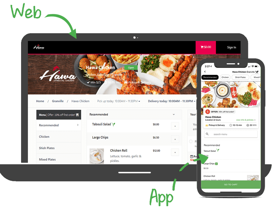 Get Eatsapp for your restaurant